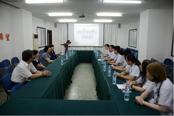 北京儿童学会集团巡讲专家到我会进行学术交流