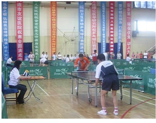 我会职工参加卫生局乒乓球比赛获佳绩